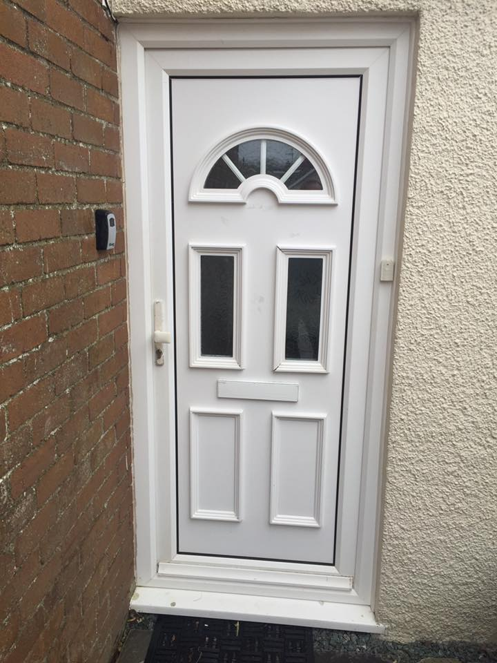 upvc doors white windows Up and Over Garage Doors Electric Roller Porthcawl Bridgend Cardiff UPVC Windows GRP Flat Roofs Roofing
